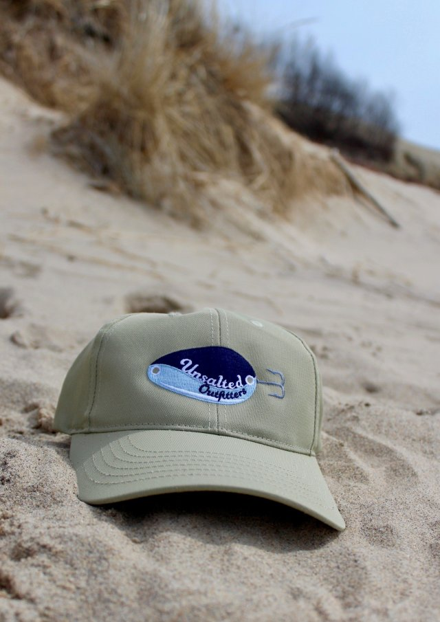 Embroidered Tall Khaki Hat 00002