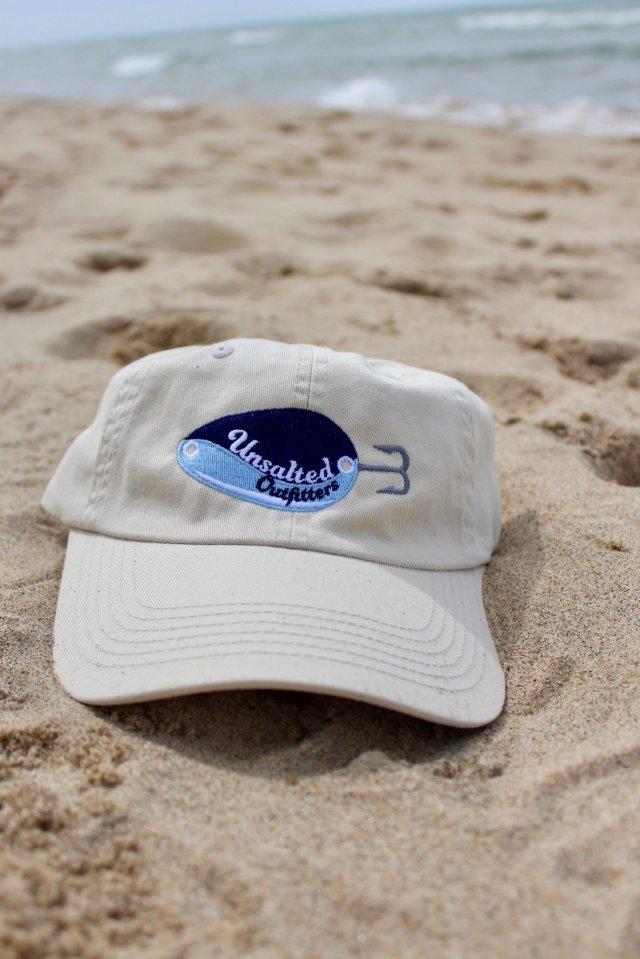 Embroidered Light Khaki Short Hat 00004