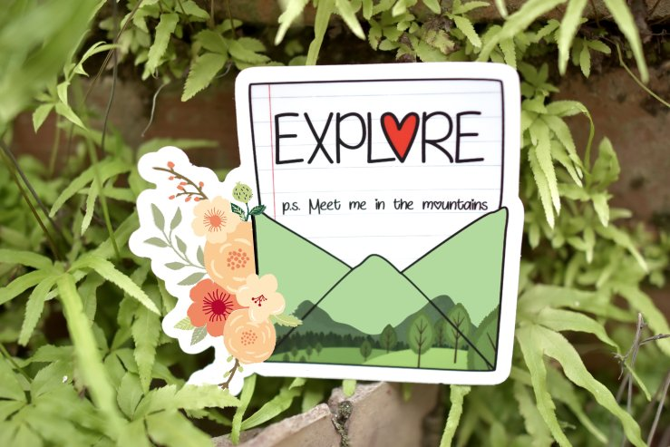 Explore Sticker 00005