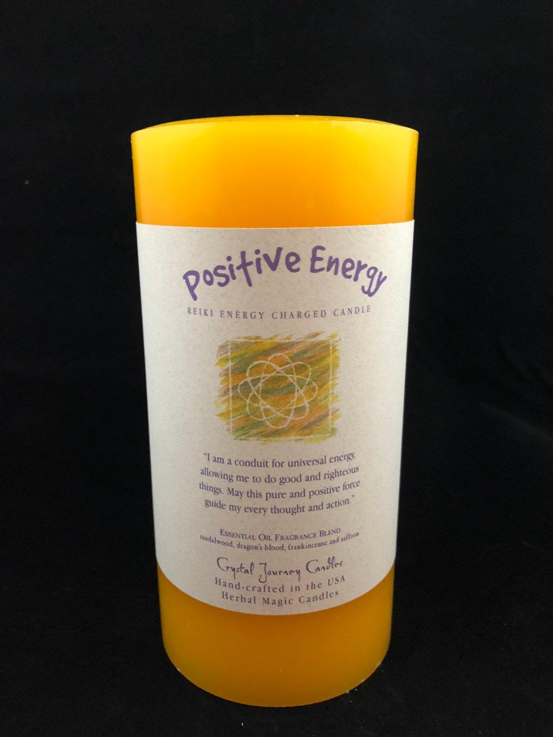 Herbal 3x6 Pillar - Positive Energy MP119