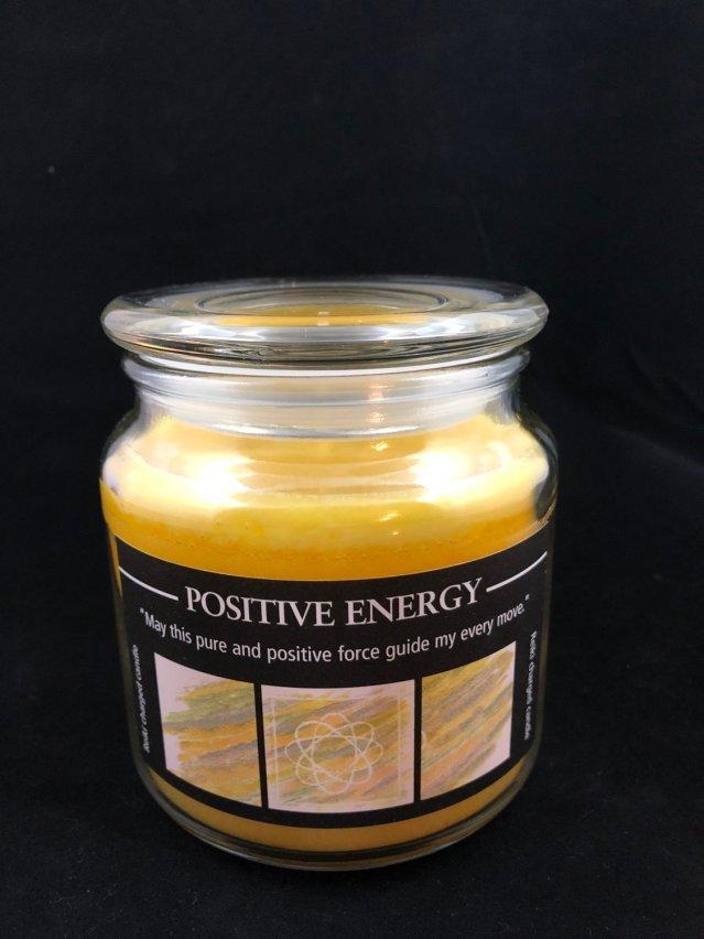 Herbal jar Candle - Positive Energy