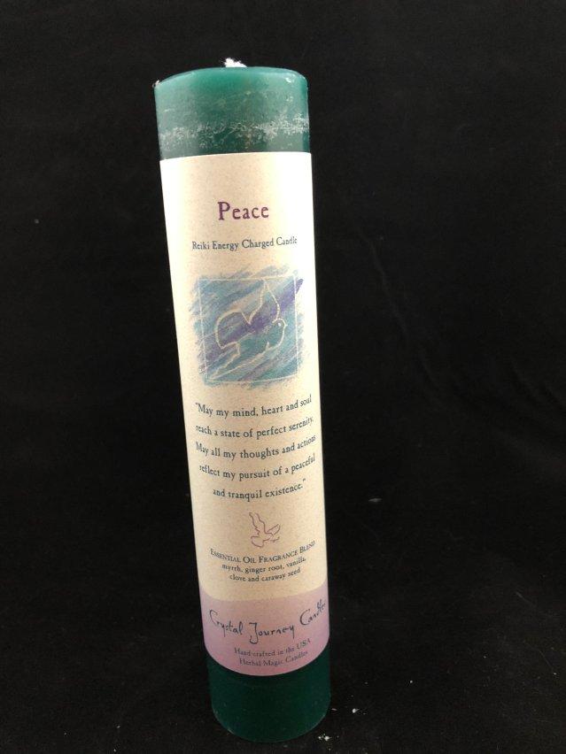 """Herbal Magic Pillar - Peace (1.5"""" x 7"""") MP127"""