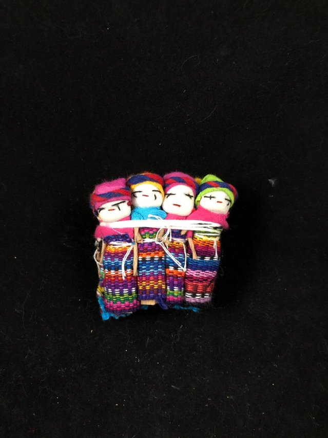 Worry Dolls 2 inch with pouch
