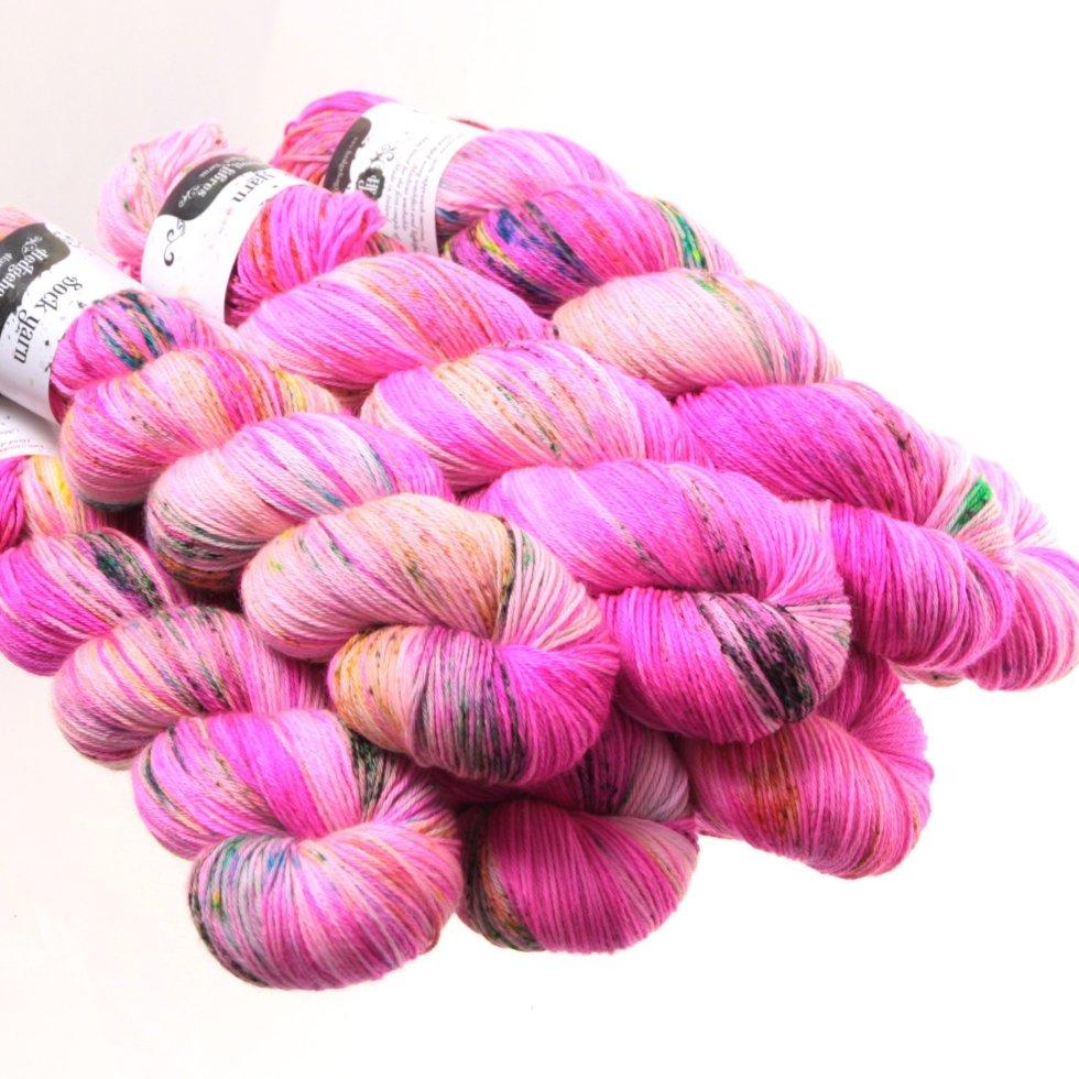 Hedgehog Fibres Kidsilk Lace in Pinky Swear PMRDFHR8Q3CB6