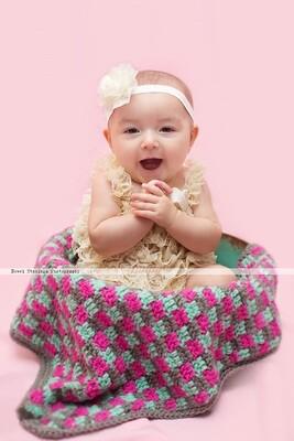 Brick by Brick Blanket Crochet Pattern