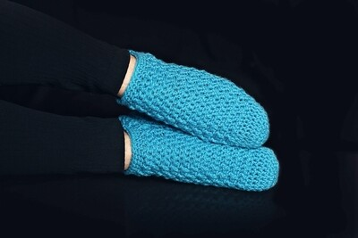 Cloudless Socks Crochet Pattern