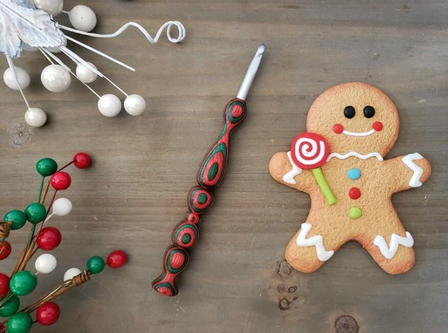 Christmas Crochet Hook