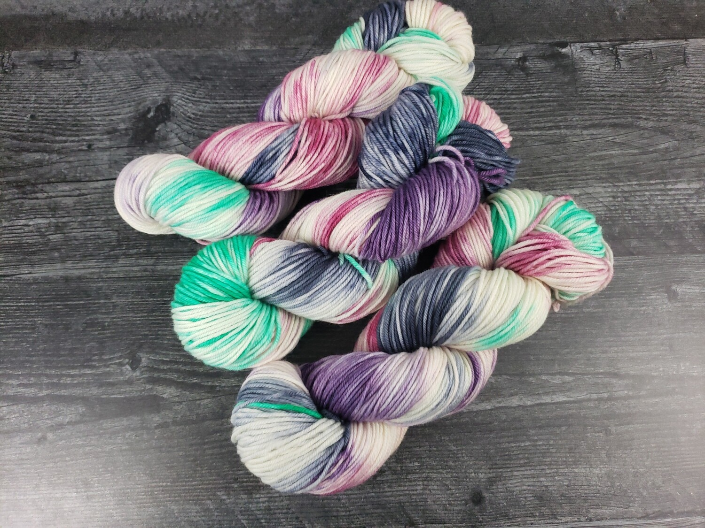 Northern Lights Hand Dyed Yarn