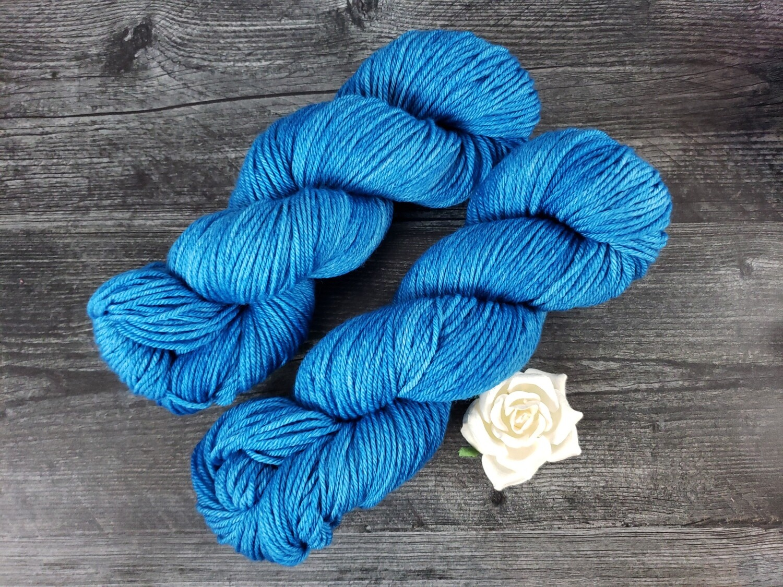 Peacock Hand Dyed Yarn
