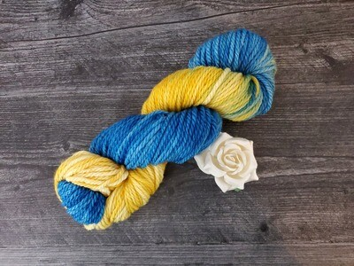 Starry Night Hand Dyed Yarn - Bulky RTS