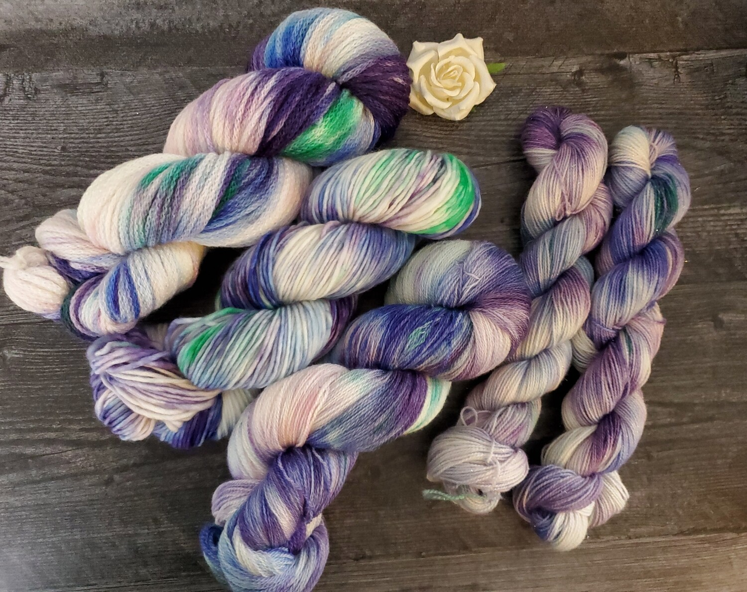 Mermaid Hand Dyed Yarn RTS