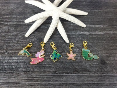 Under the Sea Stitch Marker Set