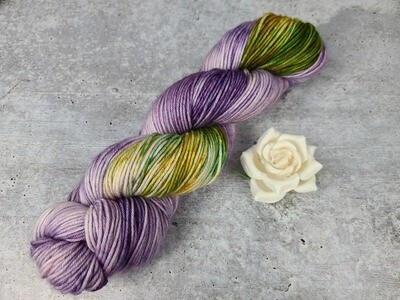 Blooming Flowers Hand Dyed Yarn