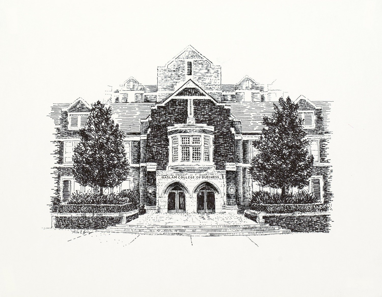 Haslam Business Building