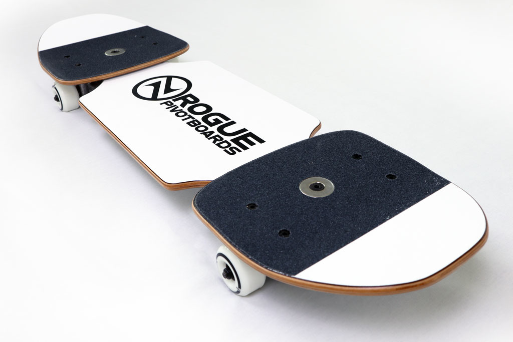 Rogue Pivotboards Third Wave - Complete Pivotboard / Snakeboard / Streetboard 01