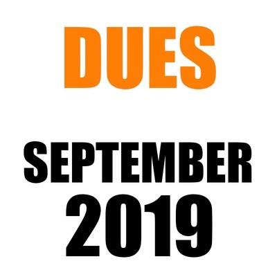 DUES | September 2019