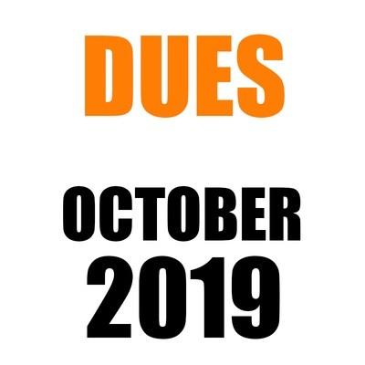 DUES | October 2019