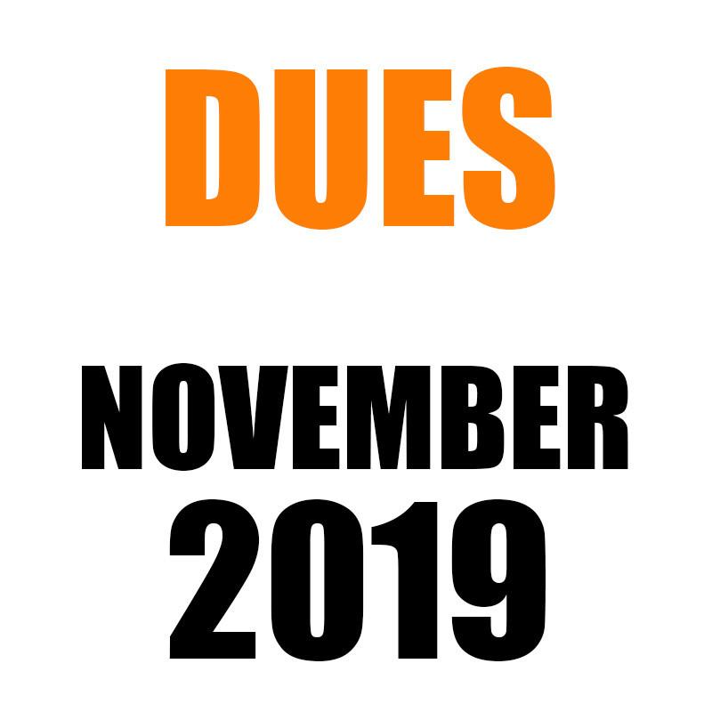 DUES | November 2019