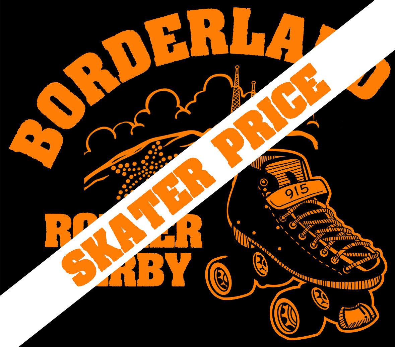T-Shirt   Borderland Roller Derby (Skater)