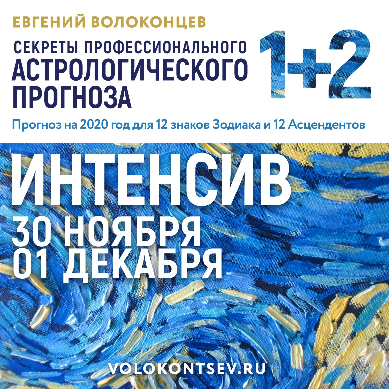 ПРОГНОЗ 2020 ДЛЯ 12 ЗНАКОВ И 12 АСЦЕНДЕНТОВ (два вебинара 10 ч. + 6,5 ч.). 00107