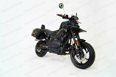 Электромотоцикл Urban 3000W (80 км/ч) - Li-ion 72v 35ah  (от 75км)