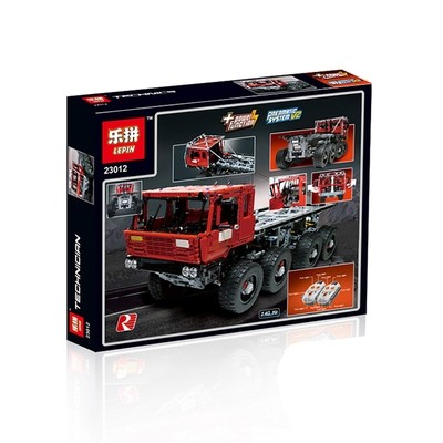 Конструктор купить Lepin Tatra 813 Trial Truck 23012