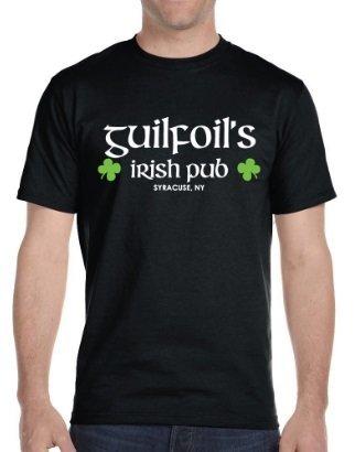 Black Guilfoil's Logo T-Shirt 00001