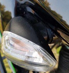 2008 klr 650 turn signal repair stalk delete kit blinker fix new [ 1500 x 1500 Pixel ]