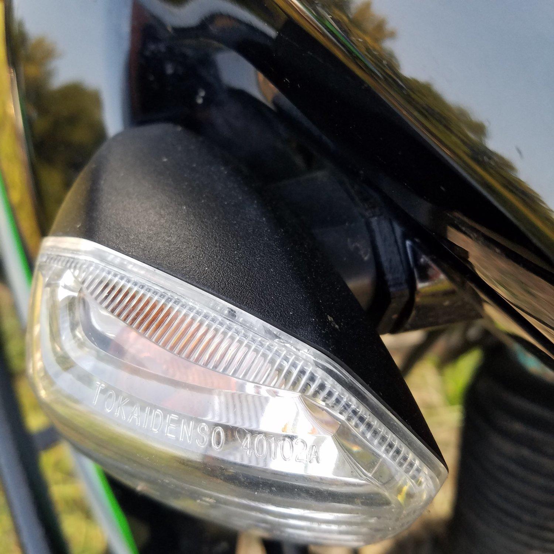 hight resolution of 2008 klr 650 turn signal repair stalk delete kit blinker fix new
