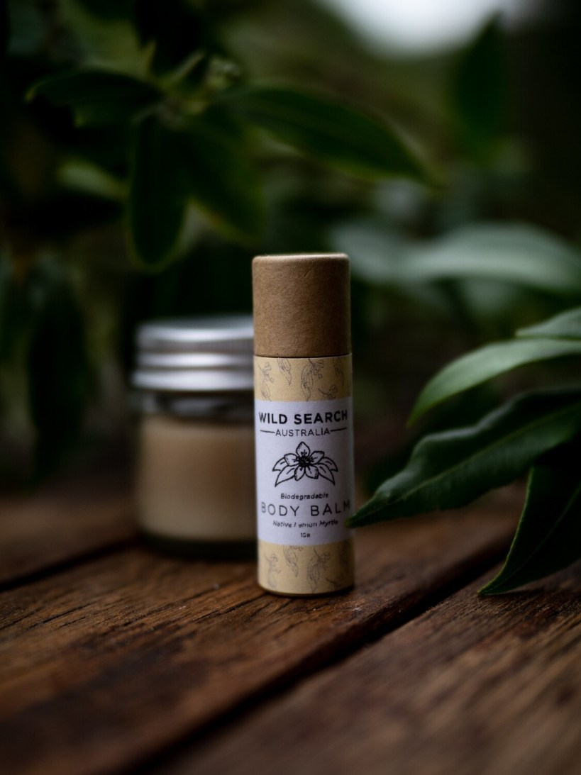 Seconds Biodegradable Body/Lip Balm - Lemon Myrtle (10g)