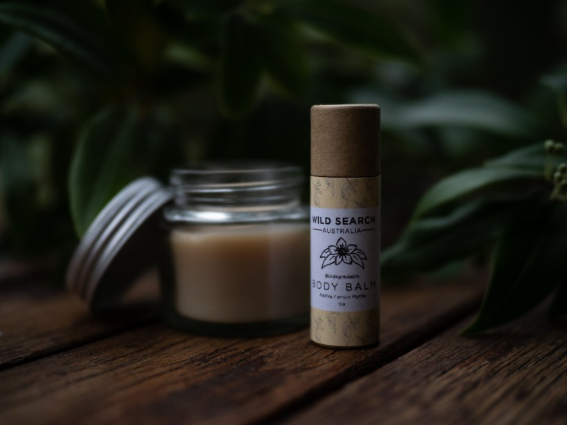 SAVE 15% - BEE Wild Range - Local beeswax - Biodegradable Deodorant (40g), Body Balm (40g) and 3x hand-rolled beeswax candles