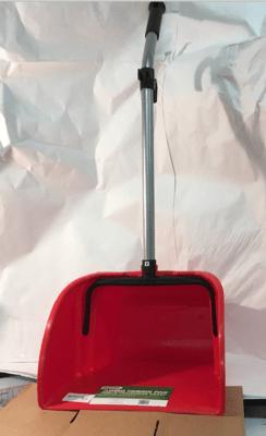 Dust Pan Jumbo Plastic Lobby Red