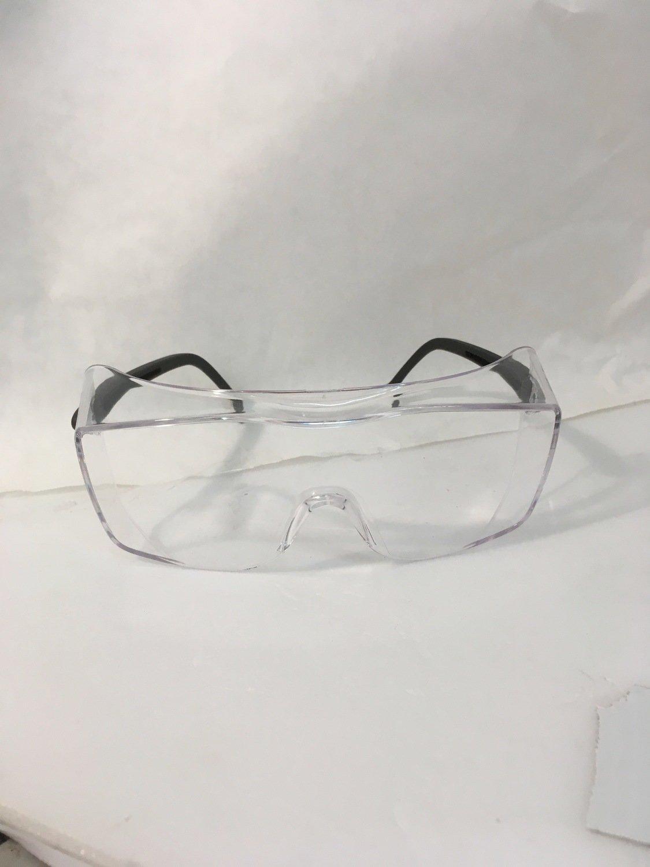 Safety Glasses ox black frame clear