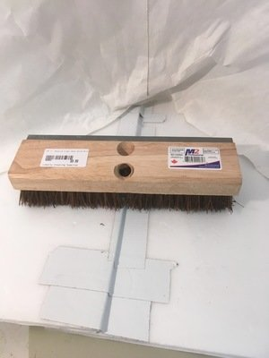 Brush Bassine Fiber Deck Scrub Brush