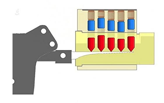 Stainless Steel Lock Pick Manual Unlock Gun Locksmith Tool Door Lock Opener Kit