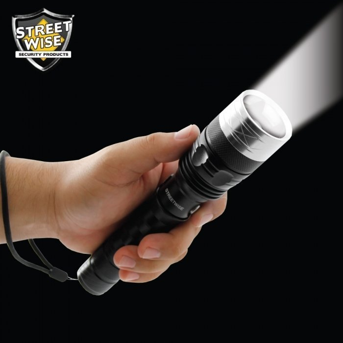 Cree LED Flashlight w/ Self Defense Spikes BCSWFS31CEP