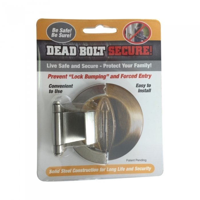Dead Bolt Secure - Nickel BCDBSNCEP
