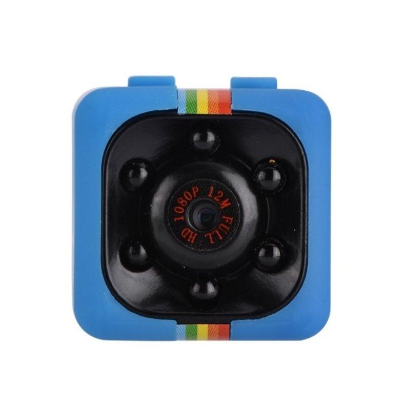 SQ11 Full HD 1080P Mini DV Video Camera Night Vision Recorder - Blue