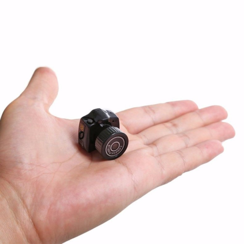Y2000 Smallest Camera HD Digital Video Recorder DVR Black