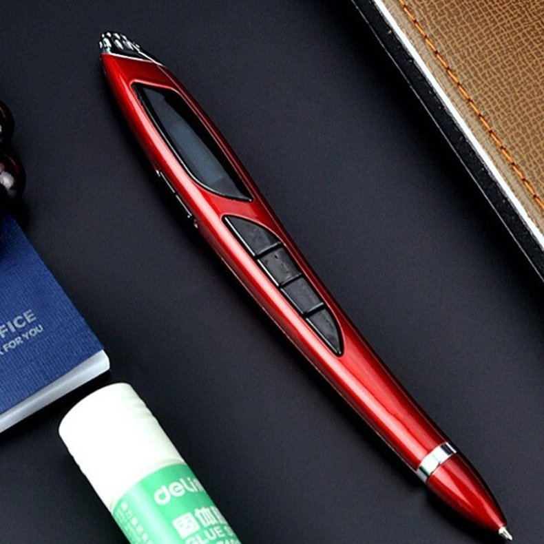 4-in-1 Multifunction 8GB Digital Business X5 Voice Recorder MP3 Player U Disk Voice Recording Pen Red TM86022033