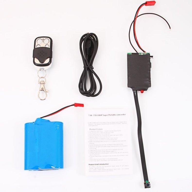 C200 1080P Full HD Surveillance Camera Module with Remote Control