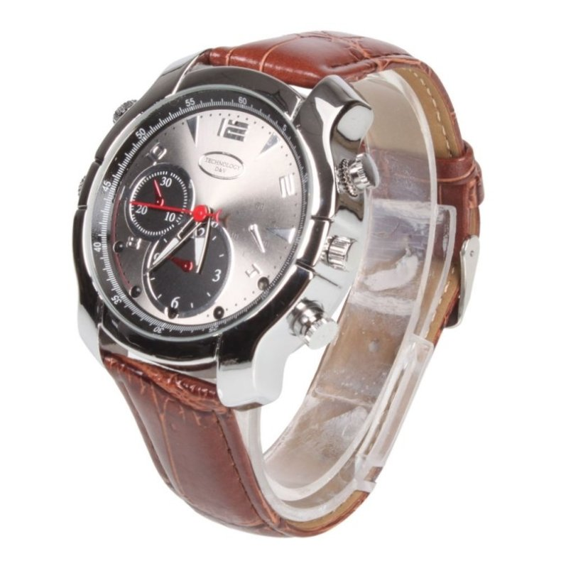 16GB HD 1080P Waterproof Watch Camera DVR IR Night Vision Digital Recorder
