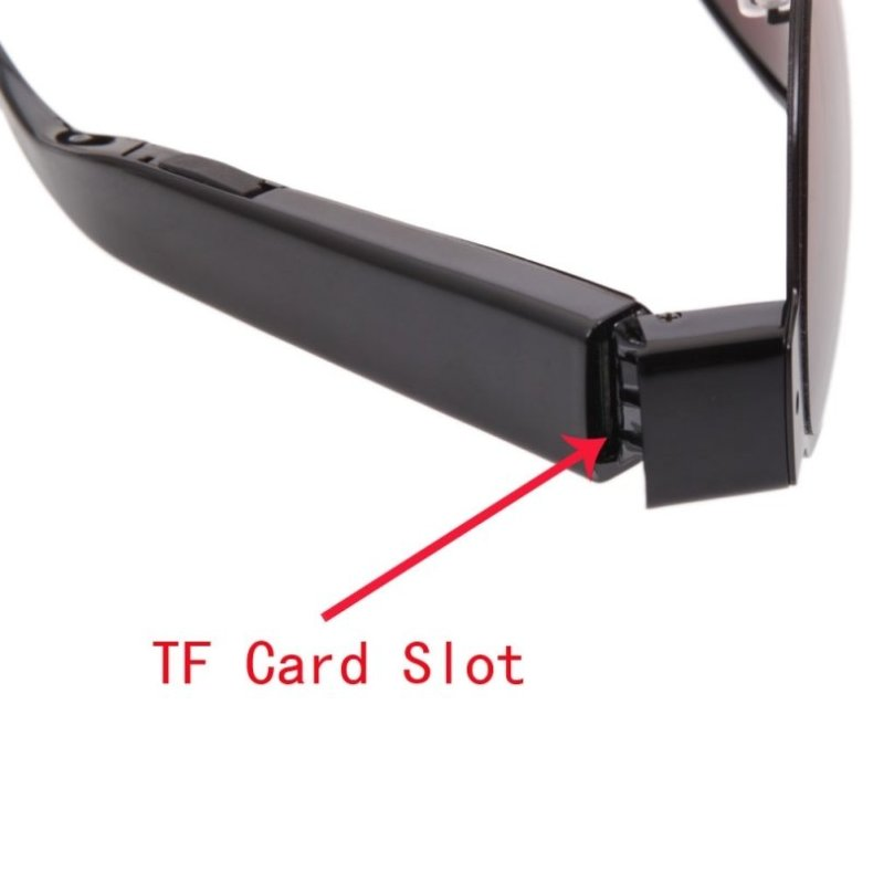 L13 1080P Full HD Super Slim Glasses Camera Hidden Video Recorder with Tawney Lens