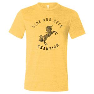 Yellow Gold Unicorn Shirt Large 00024