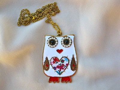 Owl necklace for fun - and love
