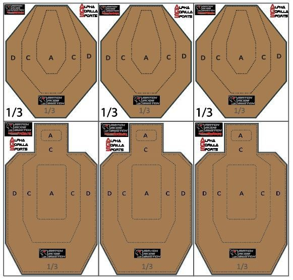 Match Mode Dry Fire Travel Set - USPSA/IPSC