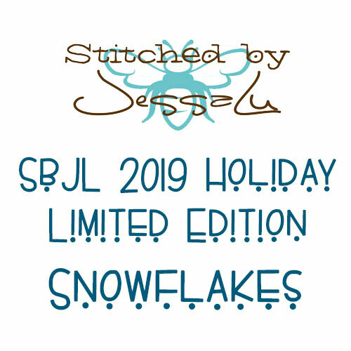 SbJL Limited Edition - 2019 Holiday Surprise- Snowflakes!