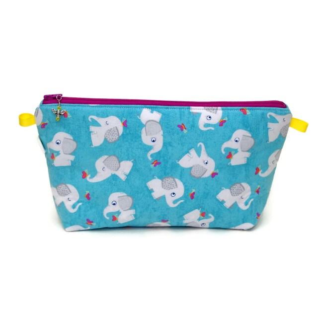 Grey Elephants - Regular Wedge Bag GreyElephants-00017