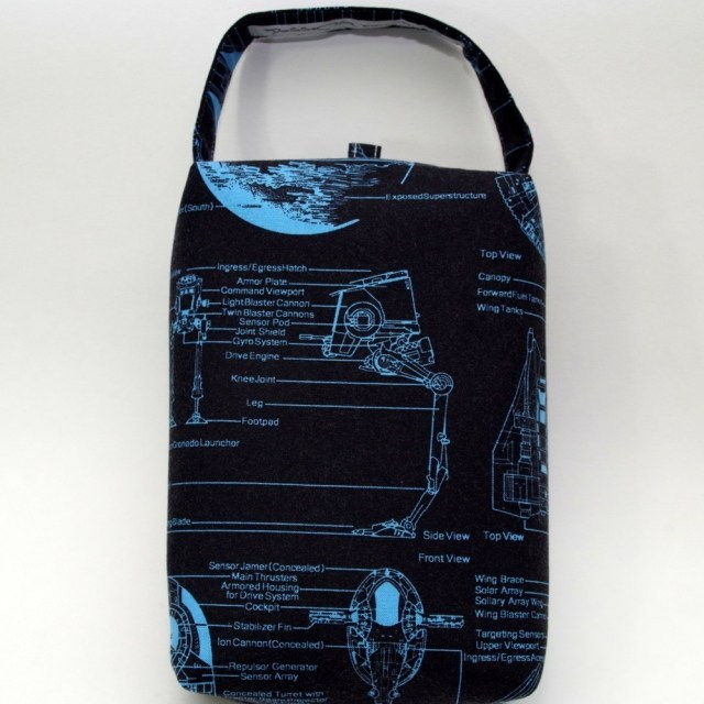 Star Wars - Schematics - Regular Box Bag