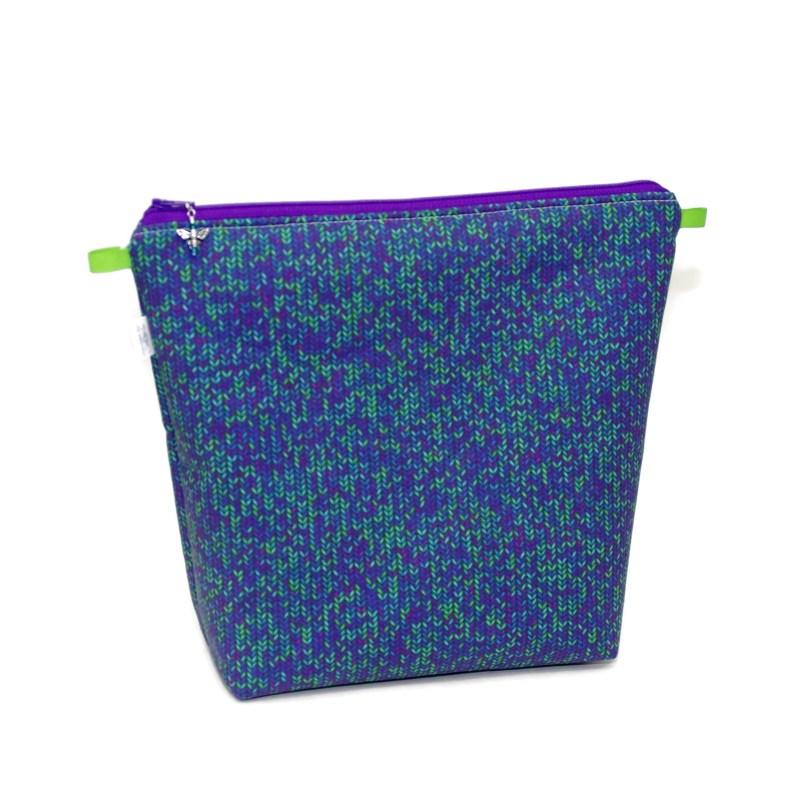 Knit Stitch in Purple - Tall Wedge KSPurple-TW